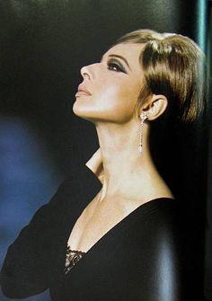 Isabella Rossellini as Barbra Streisand by makeup genius Kevyn Aucoin