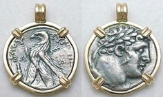 Ancient Greek Shekel of Tyre Coin jewelry