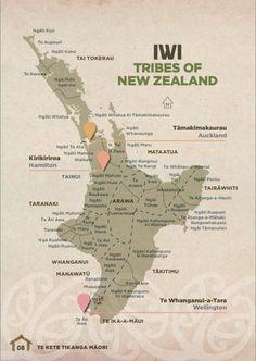 Maori iwi for the north island School Resources, Teaching Resources, Teaching Ideas, Maori Words, Map Of New Zealand, Maori Symbols, Maori Tribe, Nz History, Zealand Tattoo