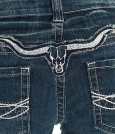 "NEW ""Cowgirl Tuff"" Longhorn Silver Jean (Coming Soon)"
