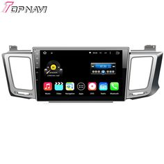 Top Quad Core Android 5.1.1 Car Multimedia For Toyota RAV4 2013 With Radio Stereo GPS Map Wifi BT Free Shipping Without DVD