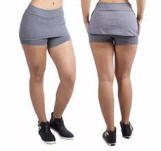 short saia suplex academia fitness veste 40 42 44 - promoção