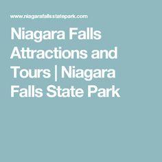 Niagara Falls Attractions and Tours | Niagara Falls State Park