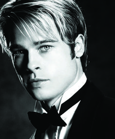 Brad Pitt, 1997. When he was in Meet Joe Black <3