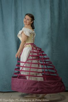 A time lapse of making a circa 1865 elliptical crinoline CREDITS work - Izabela Pitcher from Prior Attire www.priorattire.co.uk filming and photos: Lucas Pit...