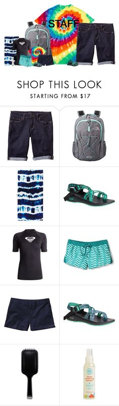 """""""Working At KidZone// 5/30/17//Alex Shepard"""" by the-hope-family ❤ liked on Polyvore featuring Banana Republic, The North Face, Chaco, Roxy, Mossimo, Patagonia, GHD, The Honest Company, kidzonekids and kidzone2017"""