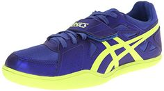 ASICS Hyper Throw 3 Track And Field ShoeDeep BlueFlash Yellow12 M US >>> Click image for more details.(This is an Amazon affiliate link and I receive a commission for the sales)