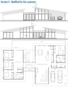 Customer House Plan / Modified Home Plan