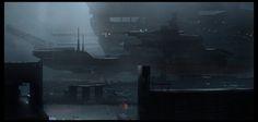 Dry Dock, Hernan Flores on ArtStation at https://www.artstation.com/artwork/dry-dock