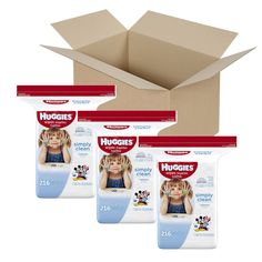 Hey guys! If you shop Amazon as frequently as I do - you will love this deal. They have a coupon right now on Huggies Wipes that takes of $4 on larger packs. Normally, a pack of 648 Simply Clean Hu...