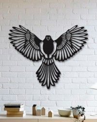 Kartal Metal Tablo - Eagle - Thumbnail