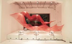 Wind Installation at Issey Miyake Ginza Store
