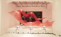 Wind Installation at Issey Miyake Ginza Store