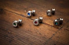 40 Caliber Bullet Earrings