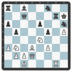 Para empezar bien el fin de semana, os presentamos un sencillo mate en 4 (blancas): http://chesslive.com/blog/2013/08/10/problemas-ajedrez-2/