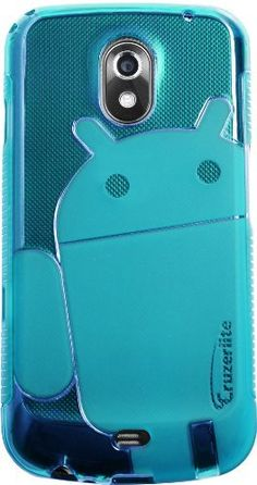 Teal - Cruzer Lite Androidified A2 High Gloss TPU Soft Gel Skin Case - For Galaxy Nexus by Samsung (Verizon Wireless) [Cruzer Lite Retail Packaging] by Cruzer Lite, http://www.amazon.com/dp/B006MKILOO/ref=cm_sw_r_pi_dp_S3rEpb1BDYMBA