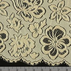 """Chantilly: TOTALLY a possibility!!  I'm a fan: $42.95/yd, 36"""" wide."""