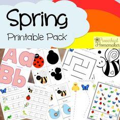 Spring Printable Pack