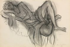 Henri Matisse - Femme Allongée - 1936