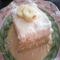 Recipe Tres Leches de Banana  Puerto Rico
