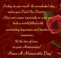 6 year wedding anniversary card from Aunt Karla
