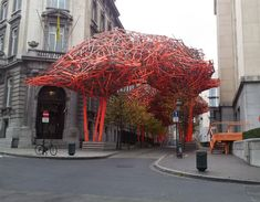 The-Sequence by Arne Quinze, Brussels, Belgium