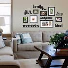 26 PCS White Wood Multi Picture Collage Set Photo Frames Home Decor Wall Mounted | eBay Family Pictures On Wall, Family Picture Frames, Collage Picture Frames, Picture Frame Sets, Picture Wall, Frames On Wall, Collage Photo, Family Photo Walls, Family Photos