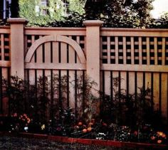 Building Lattice Top Fence - Outdoor Plans and Projects - Woodwork, Woodworking, Woodworking Plans, Woodworking Projects Fence Gate, Fences, Woodworking Plans, Woodworking Projects, Fence With Lattice Top, Waterfall Project, Store Plan, Wooden Gazebo, Gazebo Plans