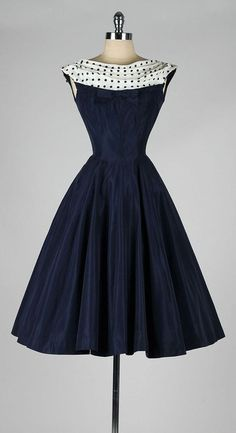 vintage 1950's dress..: