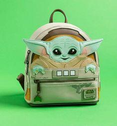 Baby Yoda carry bag Mode Geek, Truffle Shuffle, Retro Gifts, Mandalorian, Mini Backpack, Women's Accessories, Star Wars, Backpacks, Children