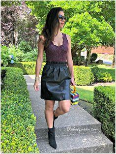 Nine Britton Amy Sleeveless Scallop Neckline Knit Bodysuit Stitch Fix Outfits, Stitch Fix Stylist, Wrap Blouse, Free People Dress, Fashion Online, Personal Style, Skinny Jeans, One Piece, Style Inspiration