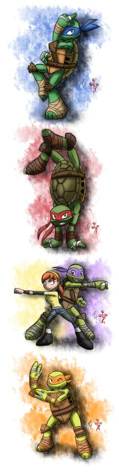 Time to bust the turtle move ! by agnes0177.deviantart.com on @deviantART