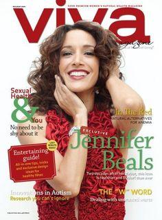 Jennifer Beals - VIVA Magazine Cover [Canada] (December 2009)