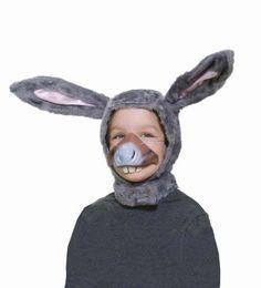 Forum Novelties Child Size Animal Costume  Donkey Hood and Nose Mask by Forum Novelties, http://www.amazon.com/dp/B002LD3PQU/ref=cm_sw_r_pi_dp_VQihsb0M6T946