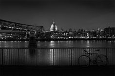 St. Paul's and a bicycle.