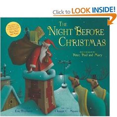 Clement Moore's much-loved classic Christmas poem The Night Before Christmas is brought beautifully to life in this gorgeous picture book, sure to bring. Childrens Christmas Books, Christmas Poems, Merry Christmas To All, The Night Before Christmas, Christmas Countdown, Family Christmas, Christmas Traditions, Childrens Books, Christmas Holidays