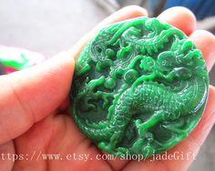 Free Shipping  chinese green  dragon  Elegant Natural by jadeGift, $32.99