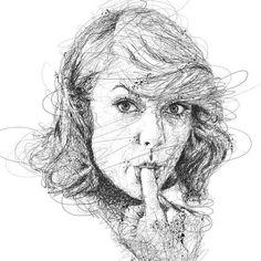 Kendine Has Tarzıyla Ünlülerin Portrelerini Çizen Sanatçı: Vince Low Sanatlı Bi Blog 2