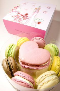 "what i would give for a Pierre Herme ""Satine"" macaron right now...."