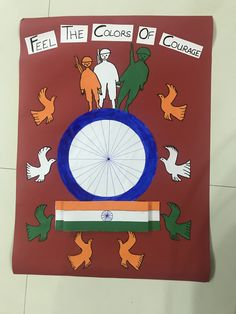 Independence Day Activities, Independence Day Decoration, 15 August Independence Day, Craft Work For Kids, Art For Kids, Crafts For Kids, Classroom Crafts, Preschool Crafts, Indepedence Day