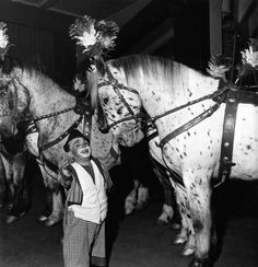 Cirque Pinder. R. Doisneau. 1949