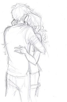 Percabeth Fanart by Burdge bug This sketch. Burdge must be a wizard because this is pure magic. I have no idea how she manages to convey such deep emotion in seemingly simple sketches like these but I hope that she never stops. Just look at Annabeth's eyes, there are a million emotions, and even though we can't see Percy's face you can sense what he is thinking and feeling through body posture alone. This is just so beautiful. Burdge is going to do great things.