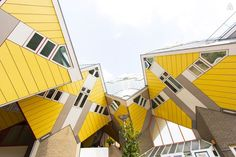 Cube House, Rotterdam, NetherlandsFor fans of the Rubik's cube, this crazy, sunshine yellow house in the center of Rotterdam awaits. The kooky space is spread over three floors and accommodates four, with a cozy box room at the top that offers epic 360-degree views. Amsterdam is less than an hour away by train. $159/night #refinery29 http://www.refinery29.com/crazy-airbnb-rentals#slide-18
