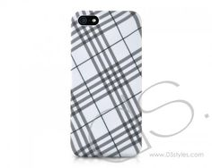 Tartan Series iPhone 5 Cases - White  http://www.dsstyles.com/iphone-5-cases/tartan-series-white.html