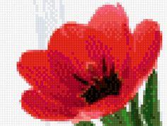 """La broderie de régime """"tulipe"""" - Plans auteur «Fialka70» - Point de Croix"""