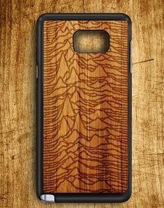 Joy Division Wood Design Samsung Galaxy Note Edge Case