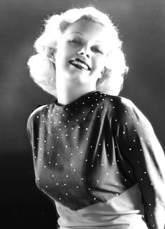 Jean Harlow (1911-1937)an American film actress and sex symbol of the 1930s. Jean suffered from scarlet fever at the age 15 in 1926. This may have contributed to her untimely death from kidney disease on June 7, 1937, at the age of 26.But even after her death her legend still continues, many people, including Marilyn Monroe, including it as her idol.