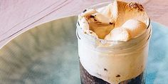 Recept van Chocoladefudge met gesmolten marshmallows