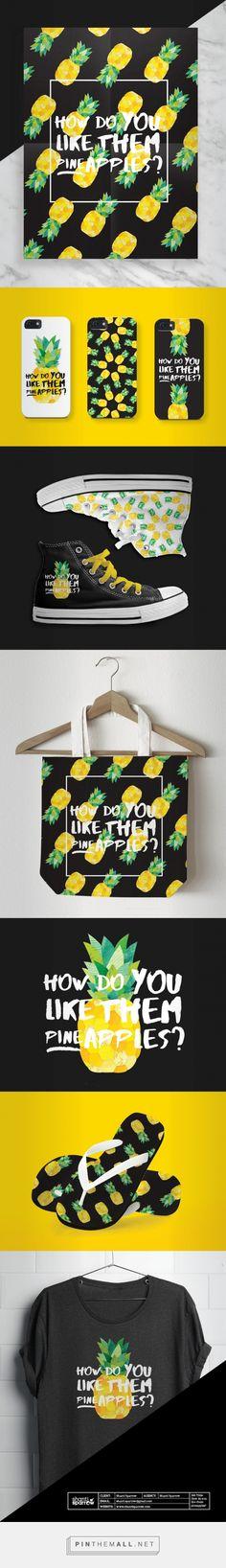 How Do You Like Them Pineapples Branding by Shanti Sparrow   Fivestar Branding Agency – Design and Branding Agency & Inspiration Gallery