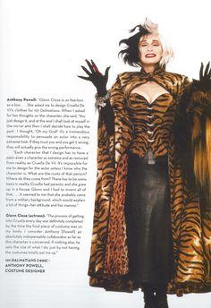 The original Cruella Deville. Mrs. Basic Instinct, Glenn Close.